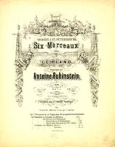 Six Morceaux pour le Piano: op. 44, heft 1