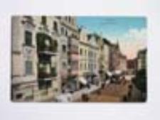 Głogów / Glogau; Markt, Westzeite; Rynek strona zachodnia