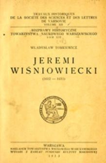 Jeremi Wiśniowiecki: (1612-1651)