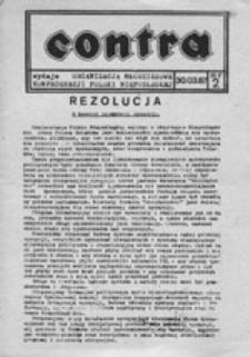 Contra, nr 1 (23.02.87 r.)