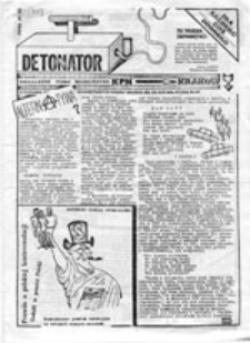 Detonator: niezależne pismo młodzieżowe KPN, [nr 2]