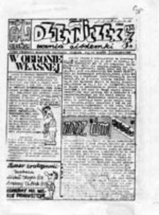 Dzienniczek ucznia siódemki: pismo Federacji Młodzieży Walczącej uczniów VII LO Gdańsk, nr 7 (listopad 1989)