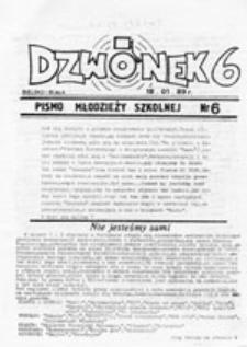 Dzwonek: pismo młodzieży szkolnej, nr 7 (26.02.89 r.)