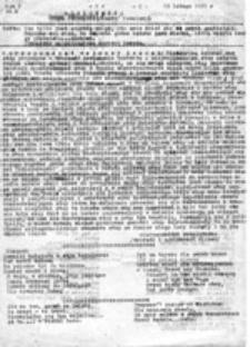 Dżdżownica: Organ Pełzającej /Kontr/ Rewolucji, nr 1 (13 lutego 1982 r.)