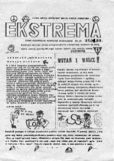 Ekstrema: pismo Głogowskiej Młodzieży Niezależnej, nr 3 (31.01.89)