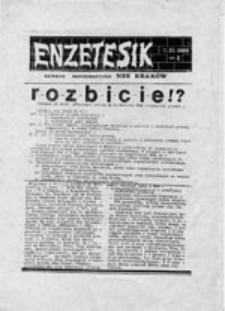 ENZETESIK: serwis informacyjny NZS Kraków, nr 5 (29.05.1989)
