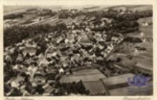 Przewóz / Priebus i. Schlesien ; Fliegeraufnahme
