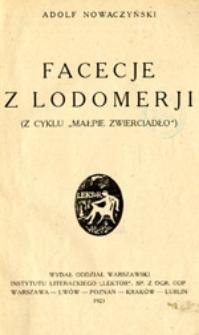 Facecje z Lodomerji