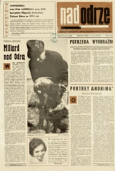 Nadodrze: dwutygodnik społeczno-kulturalny, nr 21 (8 - 21. X. 1972)
