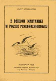 Z dziejów marynarki w Polsce