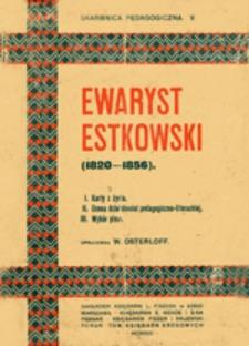 Ewaryst Estkowski : (1820-1856)