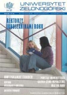 Uniwersytet Zielonogórski, 2002, nr 2 (luty)