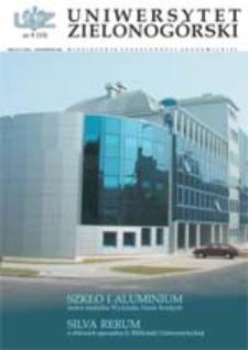 Uniwersytet Zielonogórski, 2002, nr 8 (październik)