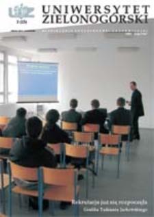 Uniwersytet Zielonogórski, 2003, nr 3 (marzec)