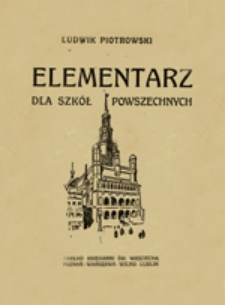 Elementarz dla szkół powszechnych w Wielkopolsce