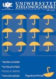 Uniwersytet Zielonogórski, 2004, nr 4/5 (kwiecień-maj)