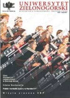 Uniwersytet Zielonogórski, 2004, nr 6 (czerwiec)