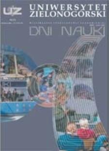Uniwersytet Zielonogórski, 2004, nr 9 (listopad)