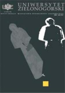 Uniwersytet Zielonogórski, 2005, nr 4/5 (kwiecień-maj)