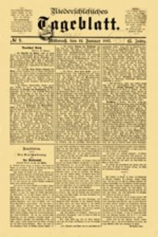 Niederschlesisches Tageblatt, no 44 (Dienstag, den 22. Februar 1887)