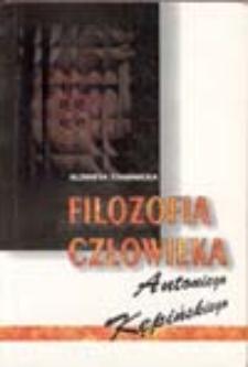 Filozofia człowieka Antoniego Kępińskiego