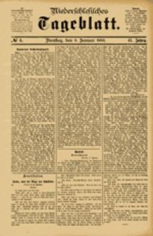 Niederschlesisches Tageblatt, no 6 (Dienstag, den 9. Januar 1883)