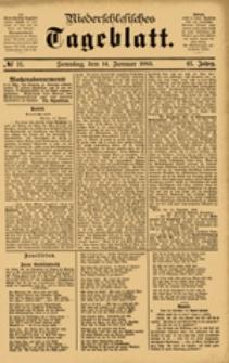 Niederschlesisches Tageblatt, no 11 (Sonntag, den 14. Januar 1883)
