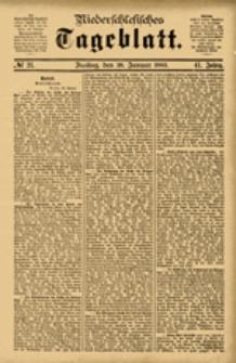 Niederschlesisches Tageblatt, no 21 (Freitag, den 26. Januar 1883)