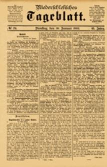 Niederschlesisches Tageblatt, no 24 (Dienstag, den 30. Januar 1883)