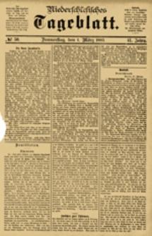 Niederschlesisches Tageblatt, no 50 (Donnerstag, den 1. März 1883)