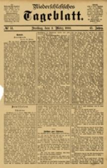 Niederschlesisches Tageblatt, no 51 Freitag, den 2. März 1883)