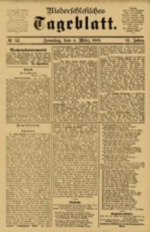 Niederschlesisches Tageblatt, no 53 (Sonntag, den 4. März 1883)