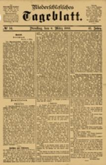Niederschlesisches Tageblatt, no 54 (Dienstag, den 6. März 1883)