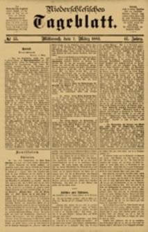 Niederschlesisches Tageblatt, no 55 (Mittwoch, den 7. März 1883)