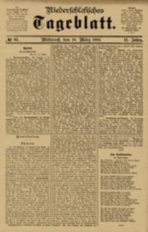 Niederschlesisches Tageblatt, no 61 (Mittwoch, den 14. März 1883)