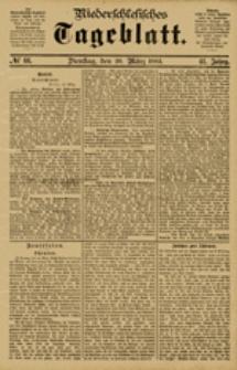Niederschlesisches Tageblatt, no 66 (Dienstag, den 20. März 1883)