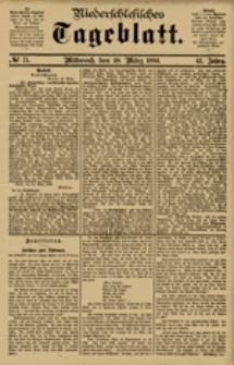 Niederschlesisches Tageblatt, no 71 (Mittwoch, den 28. März 1883)