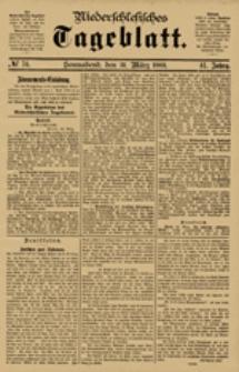 Niederschlesisches Tageblatt, no 74 (Sonnabend, den 31. März 1883)