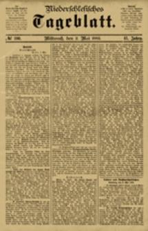Niederschlesisches Tageblatt, no 100 (Mittwoch, den 2. Mai 1883)