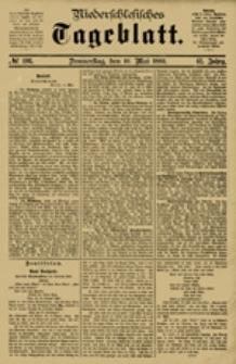 Niederschlesisches Tageblatt, no 106 (Donnerstag, den 10. Mai 1883)