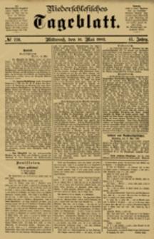 Niederschlesisches Tageblatt, no 110 (Mittwoch, den 16. Mai 1883)