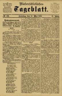 Niederschlesisches Tageblatt, no 120 (Sonntag, den 27. Mai 1883)