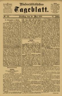 Niederschlesisches Tageblatt, no 121 (Dienstag, den 29. Mai 1883)