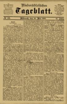 Niederschlesisches Tageblatt, no 122 (Mittwoch, den 30. Mai 1883)