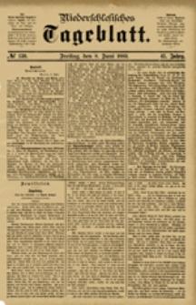 Niederschlesisches Tageblatt, no 130 (Freitag, den 8. Juni 1883)