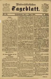 Niederschlesisches Tageblatt, no 131 (Sonnabend, den 9. Juni 1883)