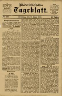 Niederschlesisches Tageblatt, no 132 (Sonntag, den 10. Juni 1883)