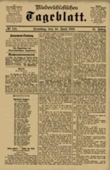 Niederschlesisches Tageblatt, no 144 (Sonntag, den 24. Juni 1883)