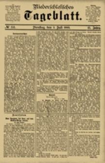 Niederschlesisches Tageblatt, no 151 (Dienstag, den 3. Juli 1883)