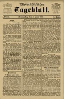 Niederschlesisches Tageblatt, no 153 (Donnerstag, den 5. Juli 1883)